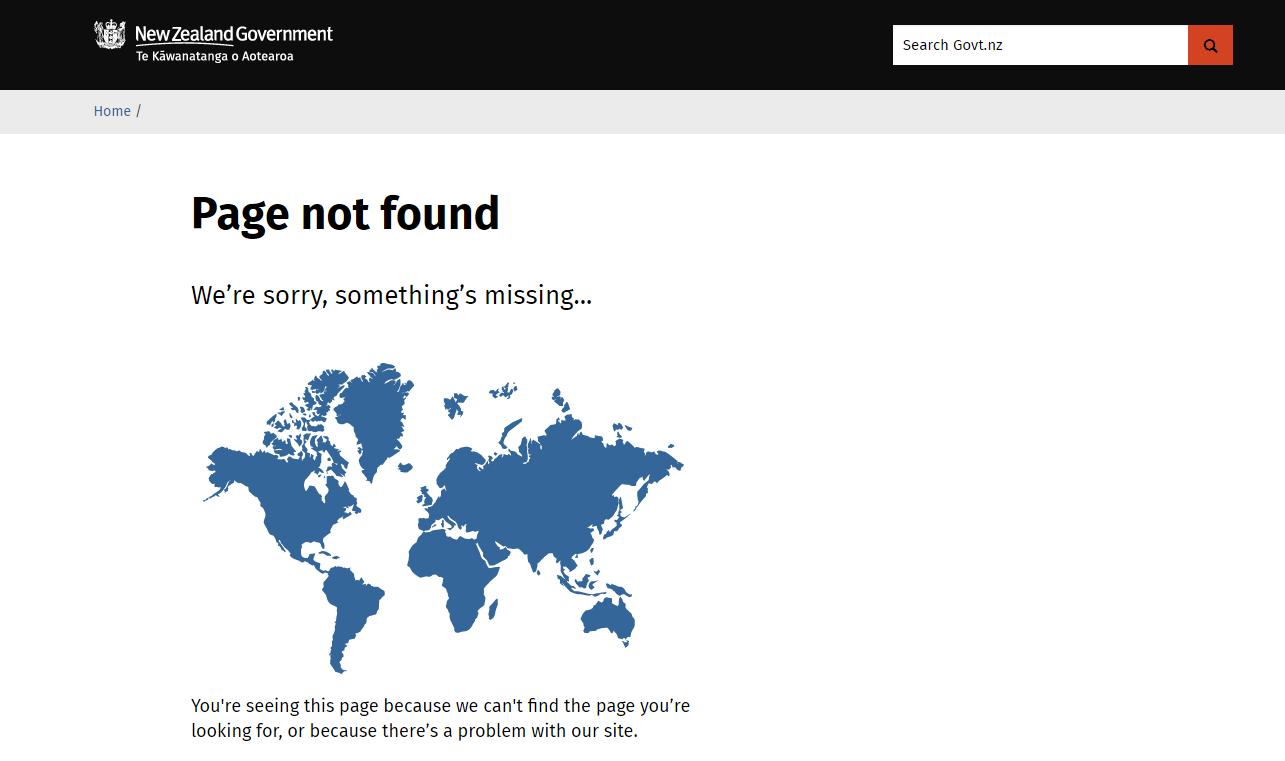 page not found: Новая Зеландия стерла себя с карты мира Page not found: Новая Зеландия стерла себя с карты мира Page not found NZ Government