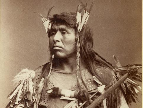 В интернете появились снимки коренных американцев конца XIX века