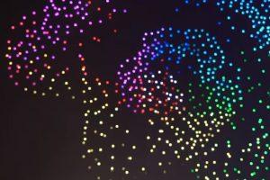В Китае установили мировой рекорд по светящимся дронам