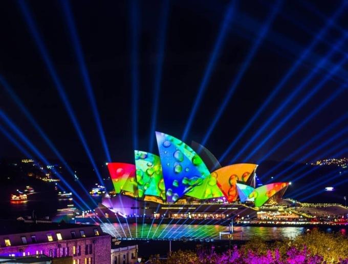 Фестиваль света, музыки и идей Vivid Sydney-2018