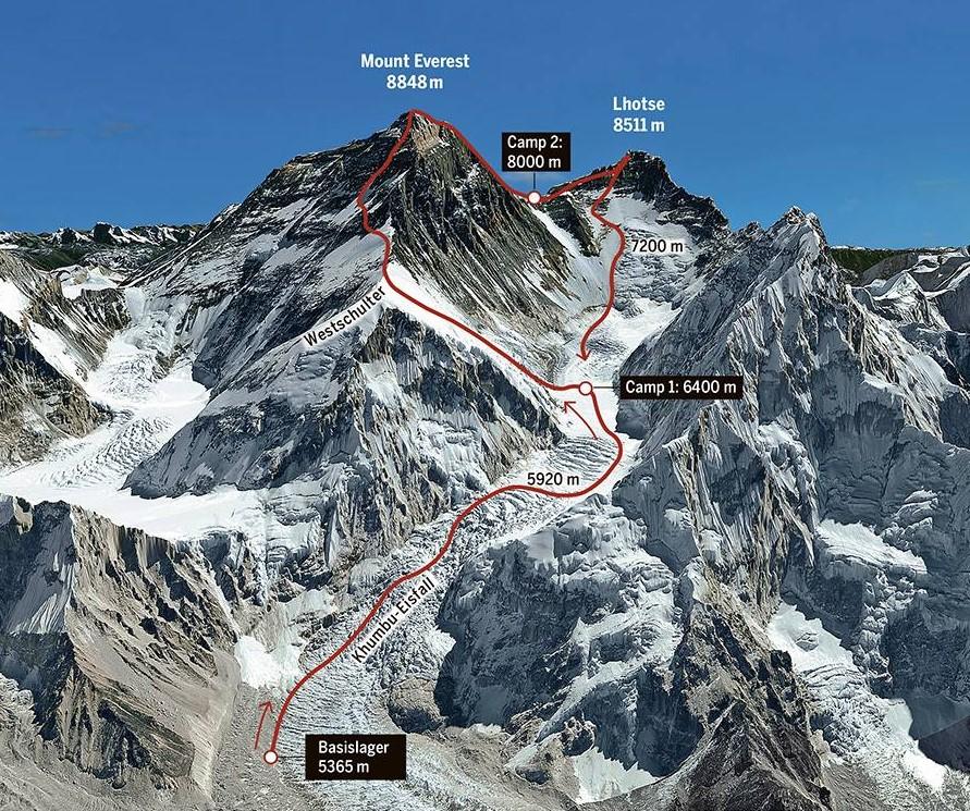 На Эвересте спасли украинских альпинистов, застрявших на обратном пути с вершины
