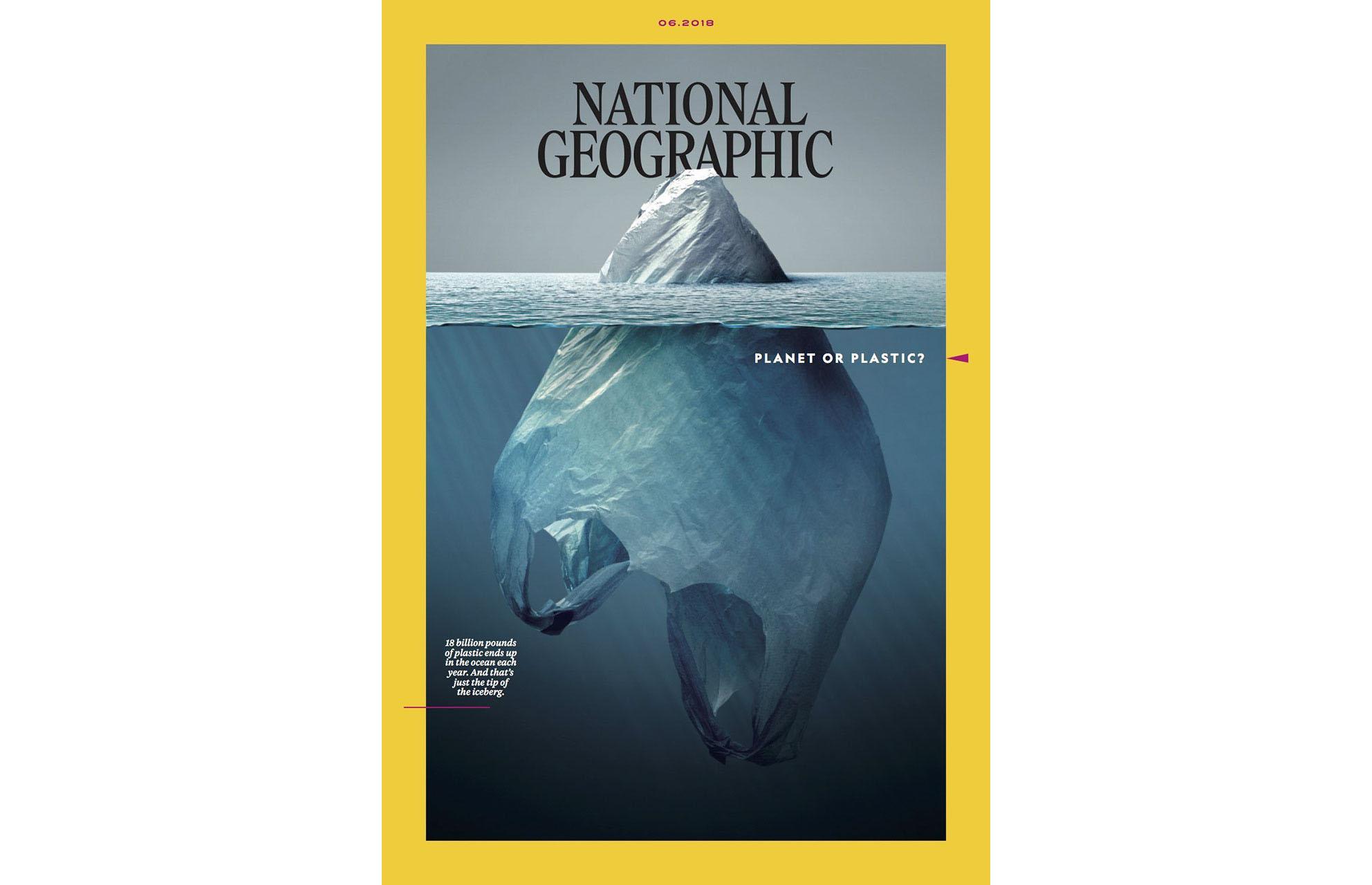 National Geographic выпустил номер, посвященный проблеме пластика в океане.Вокруг Света. Украина