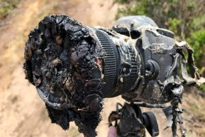 Камера, снимавшая запуск ракеты Falcon 9, превратилась в хлам