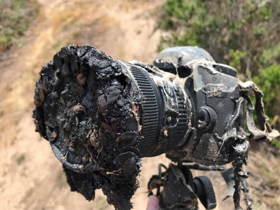 Камера, снимавшая запуск ракеты falcon 9, превратилась в хлам Камера, снимавшая запуск ракеты Falcon 9, превратилась в хлам remote camera falcon 9 photo 01