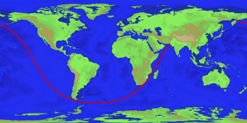 Математики вычислили длину прямого пути, который можно проплыть не швартуясь
