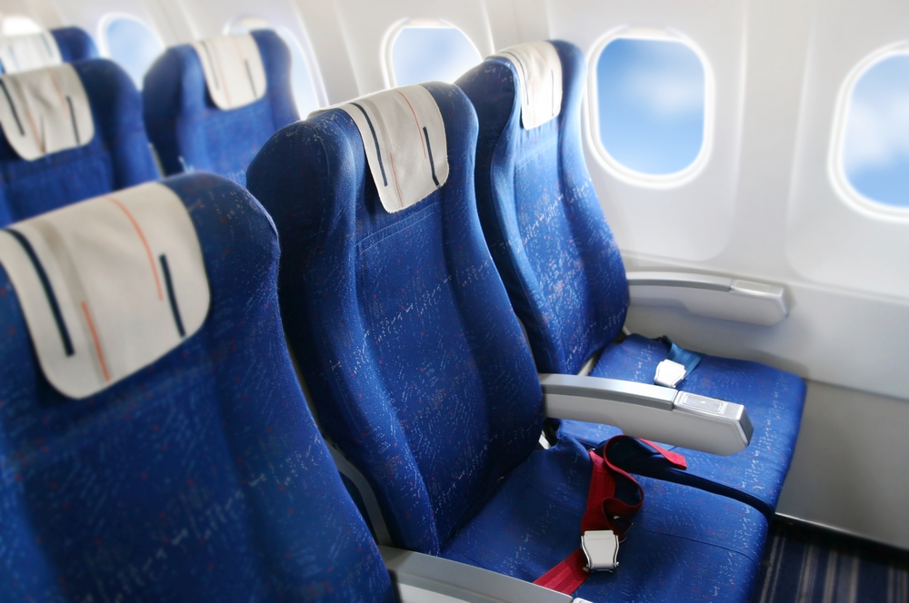 В самолетах появятся антимикробные кресла с функцией массажа