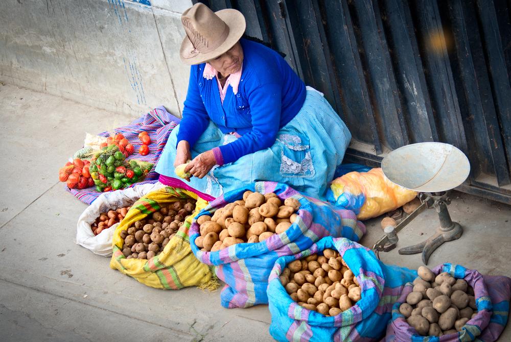 День картофеля в Перу