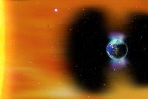 На Землю надвигается трехдневная магнитная буря