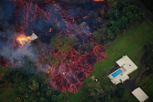 Вулкан на Гавайях уничтожил более 20 вилл