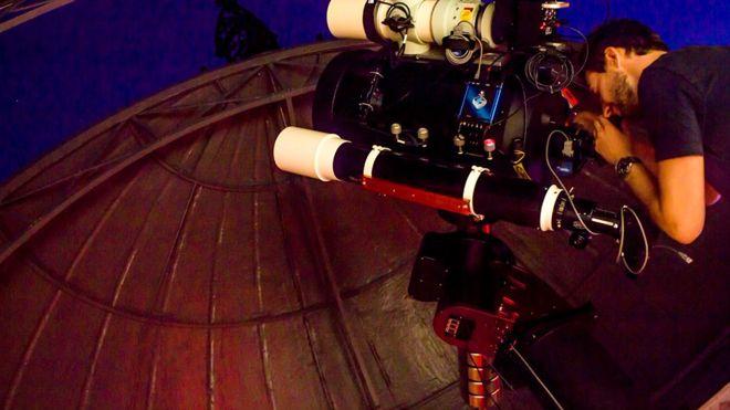 Обсерватория в Гринвиче снова открылась после 60 лет забвения Обсерватория в Гринвиче снова открылась после 60 лет забвения 102179158 dr lee sproats telescope2 1