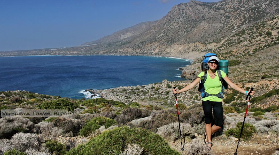 Скалы, бухты и тишина: трекинг на Крите