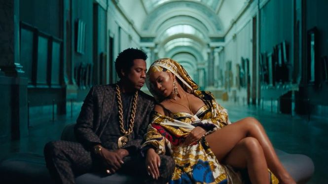 Бейонсе и Джей-Зи сняли клип в Лувре