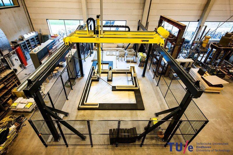 В Нидерландах на 3d-принтере напечатают целый жилой комплекс В Нидерландах на 3D-принтере напечатают целый жилой комплекс 3d printer po petchati betonom 11
