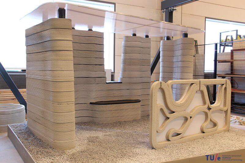 В Нидерландах на 3d-принтере напечатают целый жилой комплекс В Нидерландах на 3D-принтере напечатают целый жилой комплекс 3d printer po petchati betonom