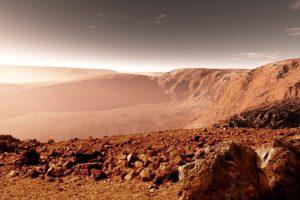 На Марсе взорвался метеорит: NASA показала фото
