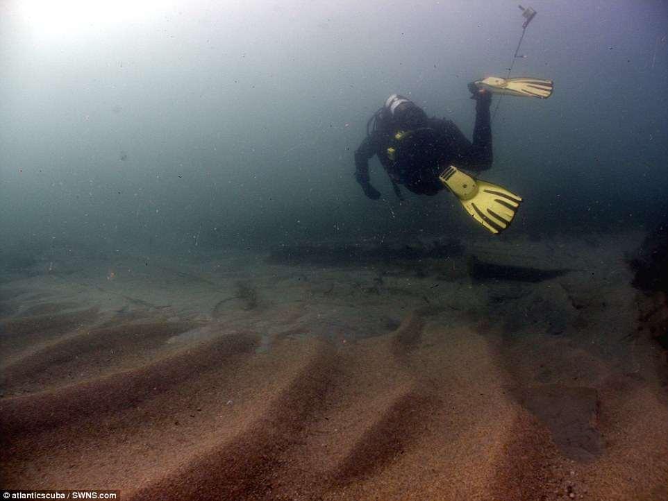 Дайверы обнаружили следы крушения самого богатого судна Британии Дайверы обнаружили следы крушения самого богатого судна Британии 4D1A71D900000578 5826637 image a 4 1528629840668
