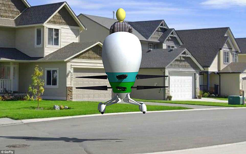 От яйца до НЛО: каким будет летучий мотоцикл от Boeing?