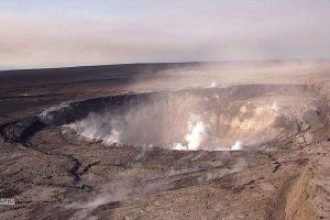 Беспилотник показал, как расширяется кратер Килауэа (видео)