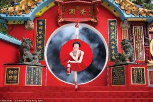 Попробуйте повторить эти селфи-позы: Гонконг прорекламировал открытие балетного сезона