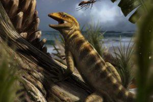 Древние ящерицы пережили массовое вымирание динозавров