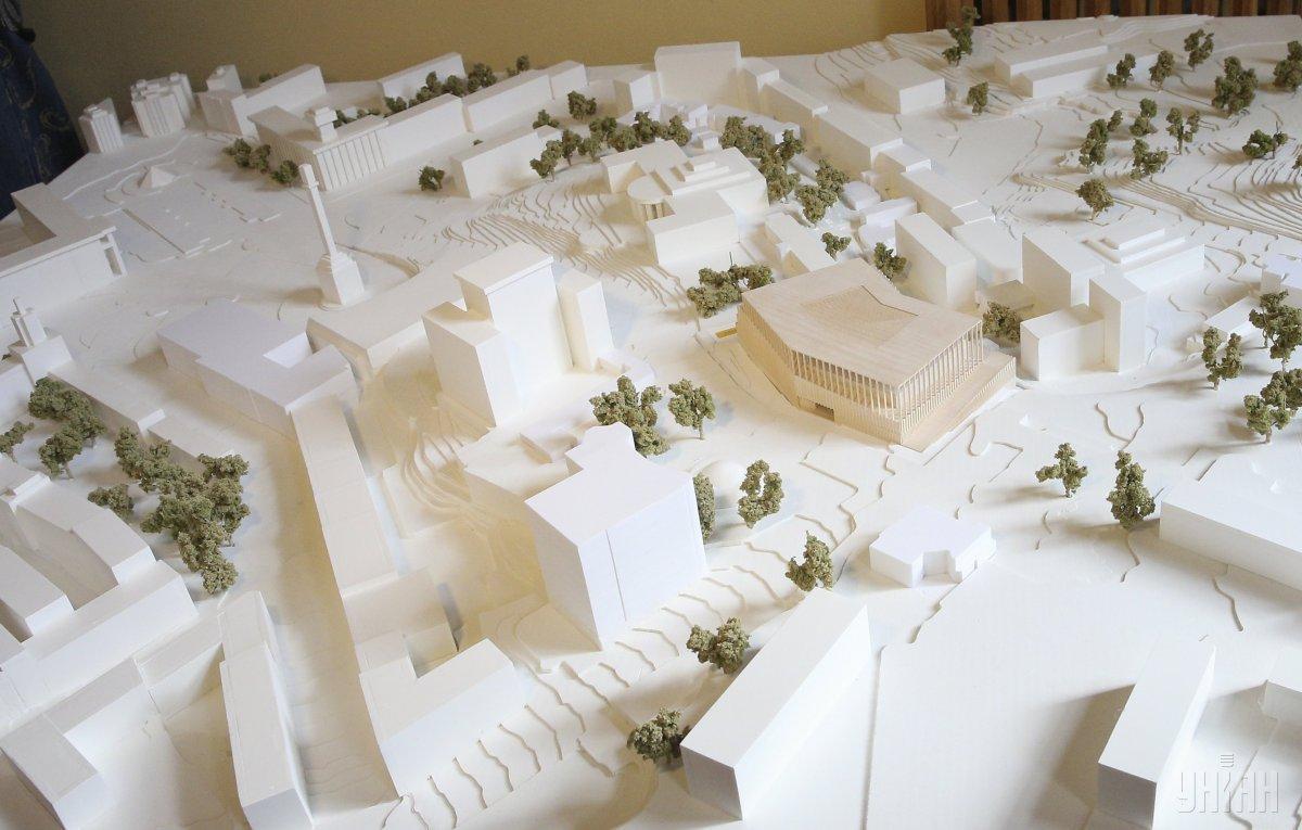 Объявлен победитель конкурса проектов музея Майдана Объявлен победитель конкурса проектов музея Майдана 6 9