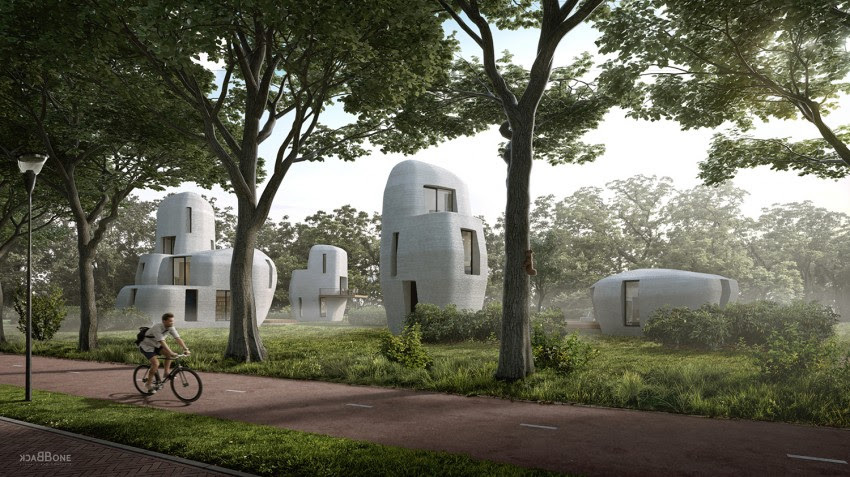 В Нидерландах на 3D-принтере напечатают целый жилой комплекс