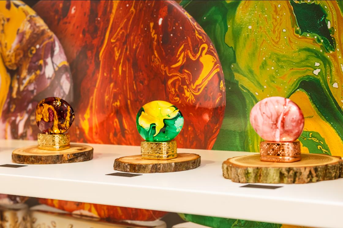 В Mandarin maison в Киеве открылся корнер parfum büro