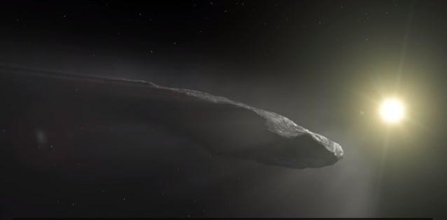 Астероид Оумуамуа движется быстрее, чем должен