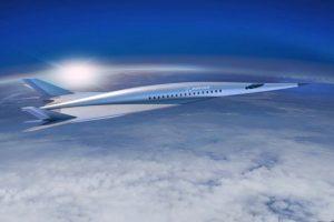5500 км за 2 часа: Boeing представил проект сверхзвукового пассажирского самолета