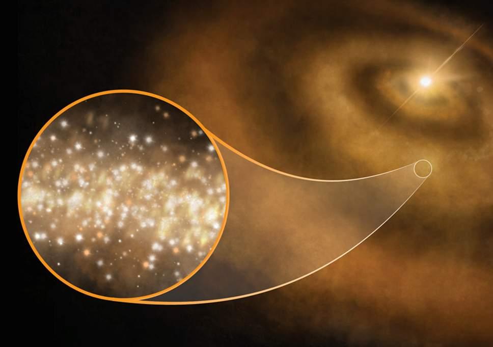 Млечный путь «усеян» алмазами: астрономы вычислили этот факт методом дедукции Млечный путь «усеян» алмазами: астрономы вычислили этот факт методом дедукции diamonds milky way