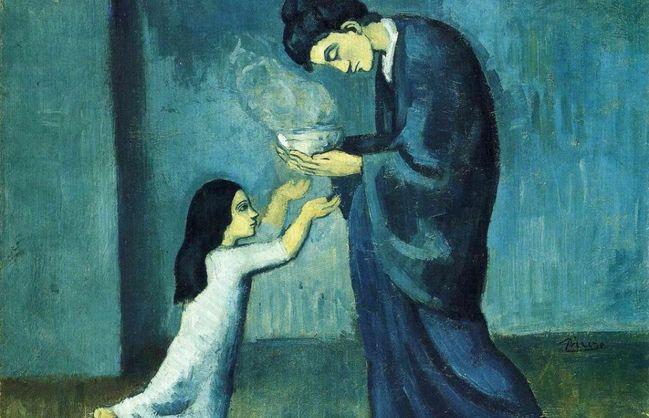 На картине Пабло Пикассо обнаружили 13 слоев краски.Вокруг Света. Украина