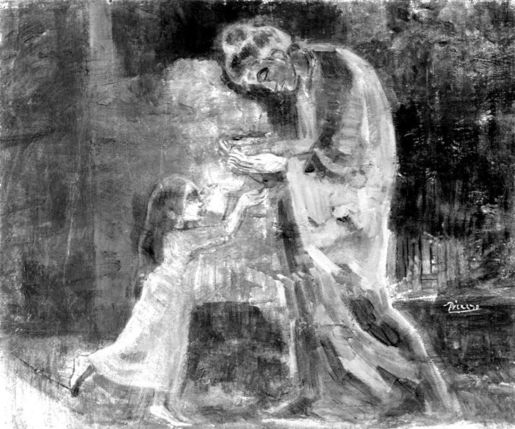 На картине Пабло Пикассо обнаружили 13 слоев краски На картине Пабло Пикассо обнаружили 13 слоев краски kartina1