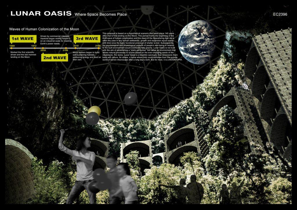 Формы внеземной жизни: выбран лучший проект города на Луне Формы внеземной жизни: выбран лучший проект города на Луне moontopia architecture space news dezeen 2364 col 8 1024x722