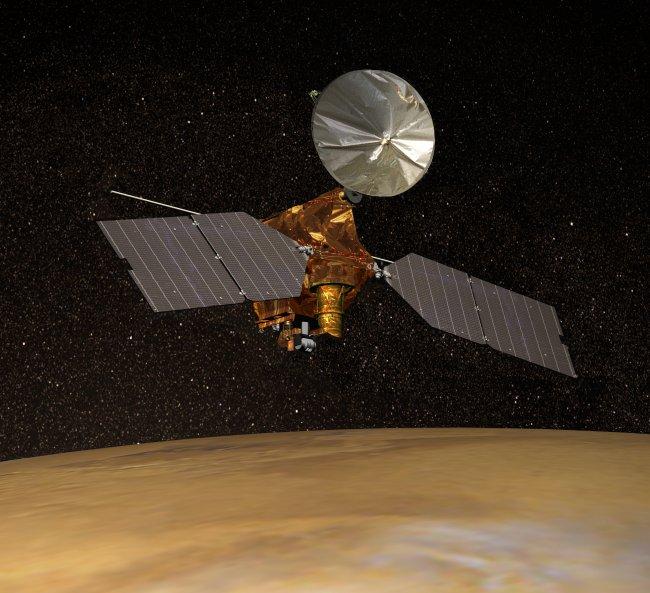 На Марсе взорвался метеорит: nasa показала фото На Марсе взорвался метеорит: NASA показала фото mro 1