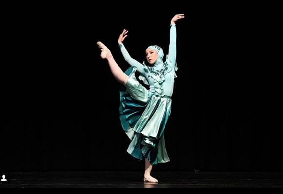 Австралийской балерине впервые в истории танцевать в хиджабе Австралийской балерине впервые в истории танцевать в хиджабе muslmanka