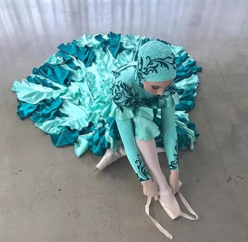 Австралийской балерине впервые в истории позволили танцевать в хиджабе.Вокруг Света. Украина