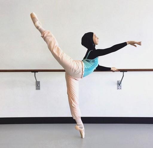 Австралийской балерине впервые в истории танцевать в хиджабе Австралийской балерине впервые в истории танцевать в хиджабе musulmanka 2