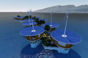 Разыскивается страна для строительства плавучих островов
