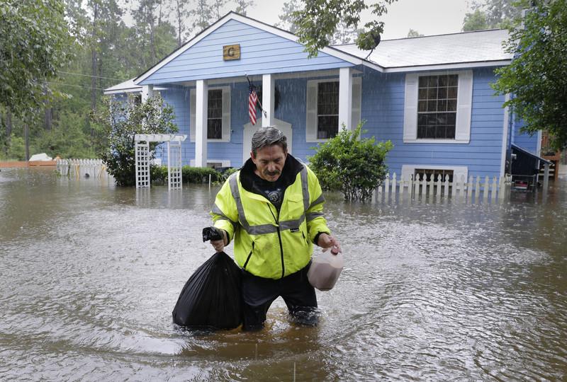 Юг США, пострадавший от урагана