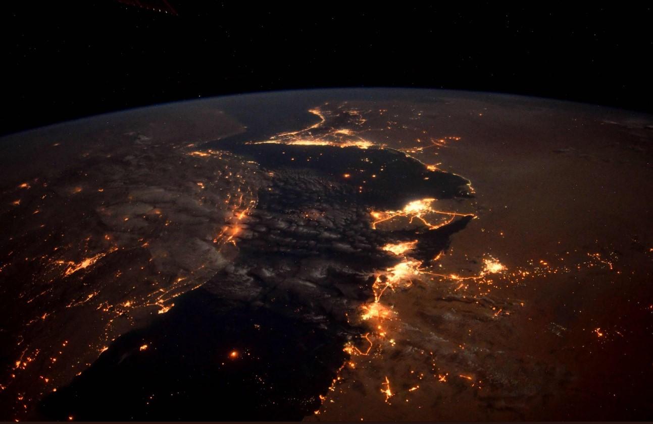 Персидский залив: взгляд из космоса