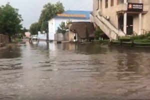 Мощный ливень в Черновцах привел к потопу