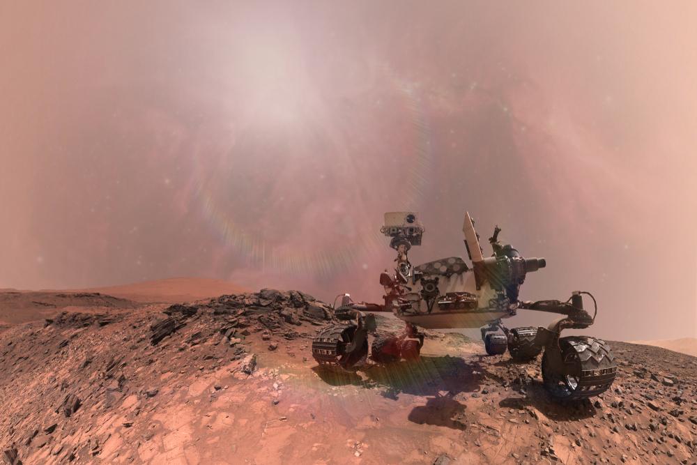 Марсоходу Opportunity угрожает пылевая буря