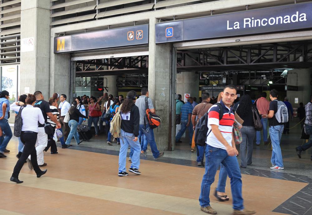 В Венесуэле метро стало бесплатным из-за дефицита бумаги  для билетов