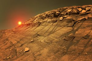 Жизнь на Марсе началась на 100 миллионов лет прежде земной?
