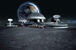 Формы внеземной жизни: выбран лучший проект города на Луне