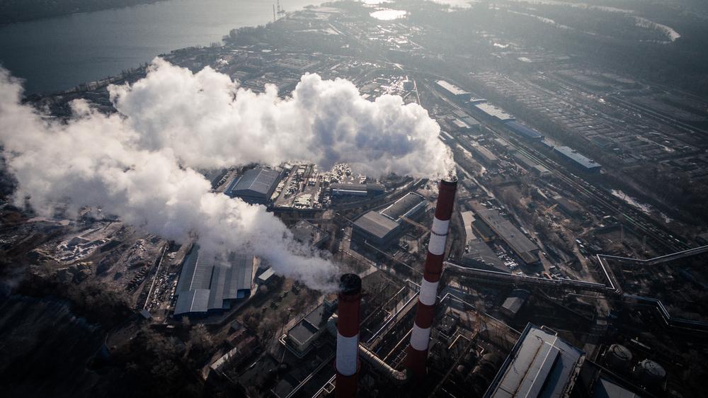 В Киеве уровень загрязнения воздуха превышает нормативы в несколько раз.Вокруг Света. Украина