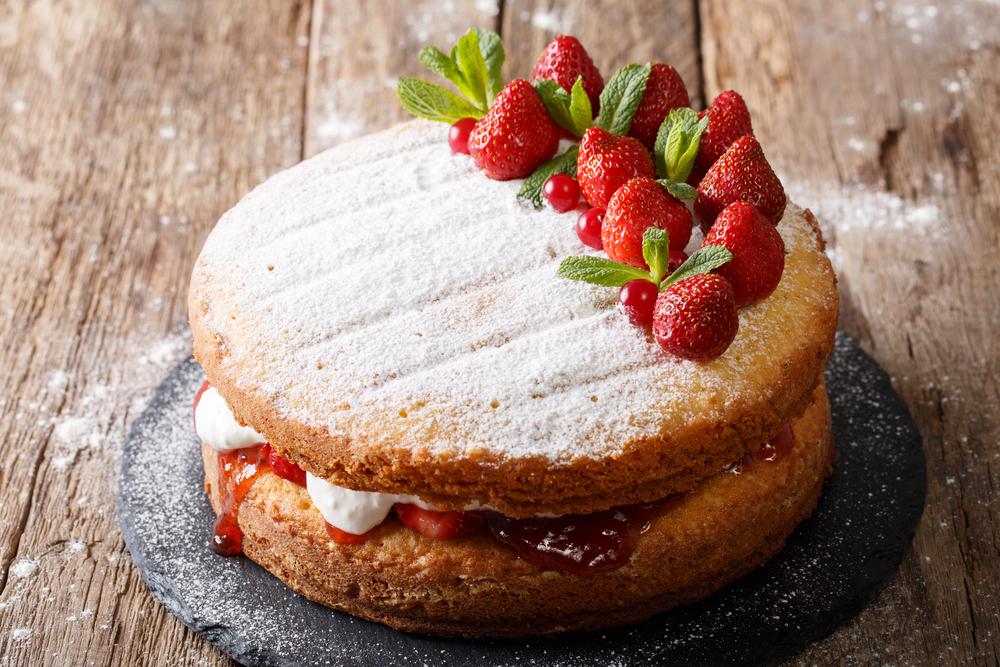 Кухни мира: английский бисквит королевы Виктории