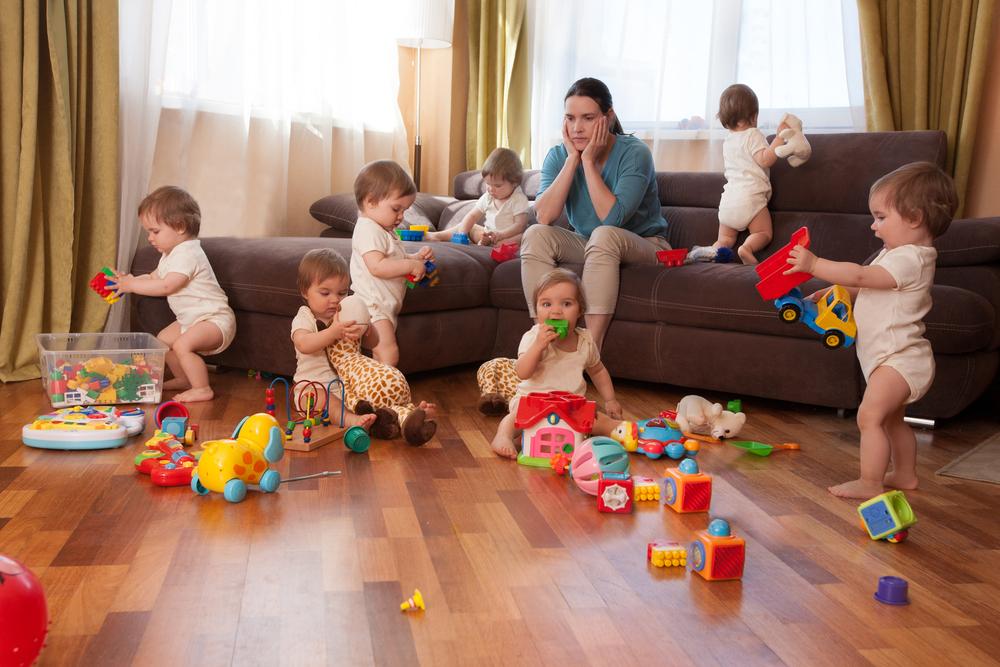 Наличие более двух детей может навредить здоровью матери Наличие более двух детей может навредить здоровью матери shutterstock 726368596