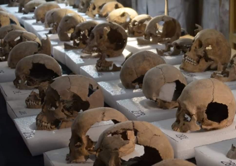 Археологи из Мехико уточнили размеры башни из человеческих черепов