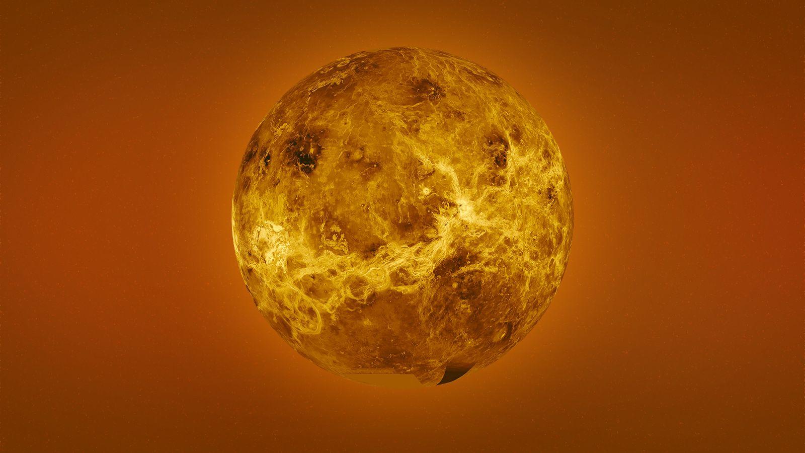 Ураганы Венеры вращаются в 60 раз быстрее планеты